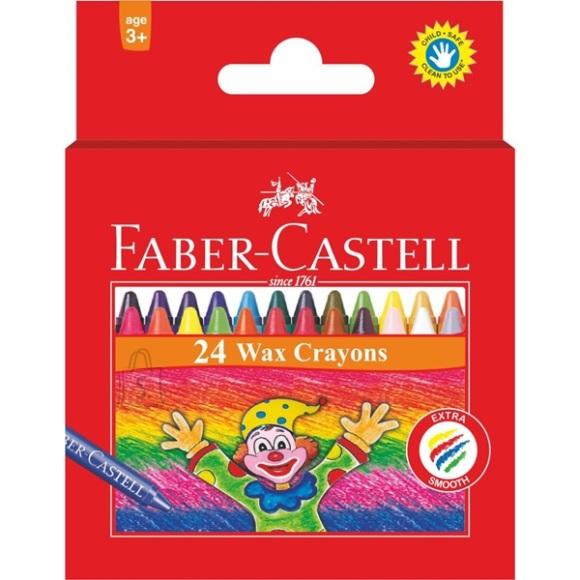 Faber-Castell *Rasvakriidid Faber-Castell 24-värvi