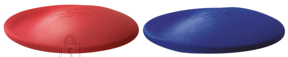 Faber-Castell Kustukumm Faber-Castell Cosmo mini, punane/sinine