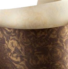 Dekoratiivpaber Roses A4/20L 250gr shokolaad