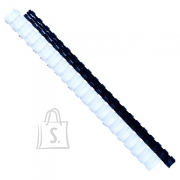 Forpus *Köitespiraal Forpus 22mm, plastik, must 50 tk/pk