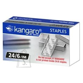 Kangaro Klambrid Kangaro 24/6 tsink 1000tk/pk
