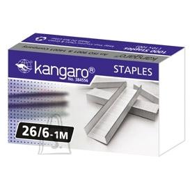 Kangaro Klambrid Kangaro 26/6 tsink 1000tk/pk