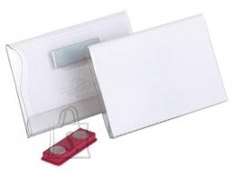 Durable Nimesildihoidja Durable 90x60mm, magnetkinnitusega