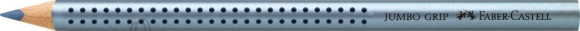 Faber-Castell Värvipliiats Faber-Castell Jumbo Grip metallik sinine (P)