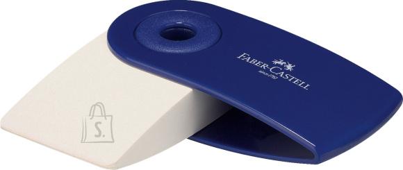 Faber-Castell Kustukumm Faber-Castell Sleeve Mini, punane /sinine
