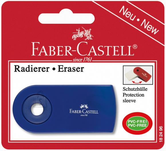 Faber-Castell *Kustukumm Faber-Castell Sleeve, erivärvid, blistris