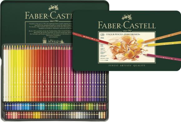 Faber-Castell Kunstniku värvipliiatsid Faber-Castell Polychromos Art&Graphic, 120-värvi