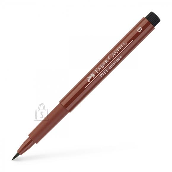 Faber-Castell Pintsel-pliiats Faber-Castell Pitt Artist Pen tumelilla (caput mortum)