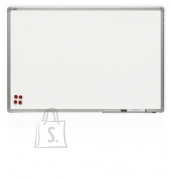 Valge magnettahvel 2x3 120x240cm, alumiiniumraamiga