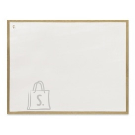 Valge magnettahvel 2x3 60x40cm, puitraamiga
