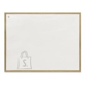 Valge magnettahvel 2x3 60x80cm, puitraamiga