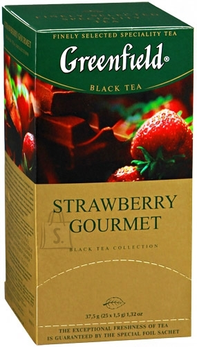 Greenfield Tee Greenfield Strawberry Gourmet must tee 1,5gx25 (fooliumis)