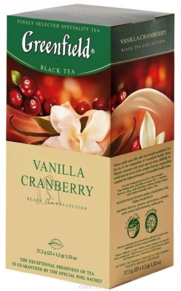 Greenfield Tee Greenfield Vanilla Cranberry must tee 2gx25 (fooliumis)