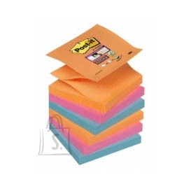 Post-It Märkmepaber-Z 3M Post-it Super Sticky 76x76mm Bangkok 6tk/pk (P)