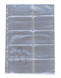Panta Plast Visiitkaardi lisaleht köidetav A4 Panta Plast 10-taskut 1tk
