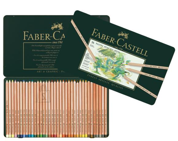 Faber-Castell Värvipliiats Faber-Castell PITT PASTEL tin of 36 (P)