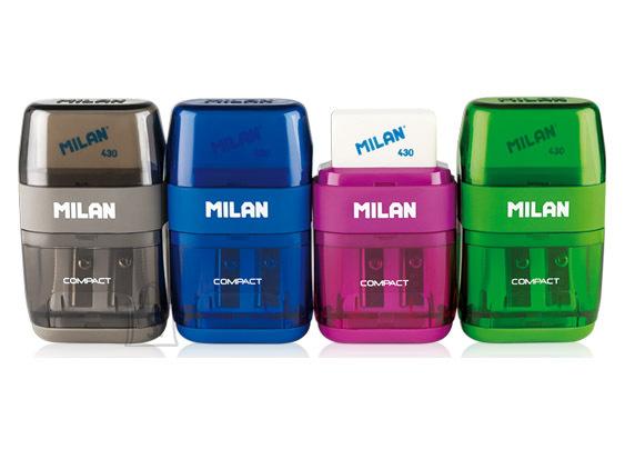 Milan Pliiatsiteritaja+kustukumm Milan Compact
