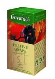 Greenfield Tee Greenfield Festive Grape ürditee 2gx25 (fooliumis)
