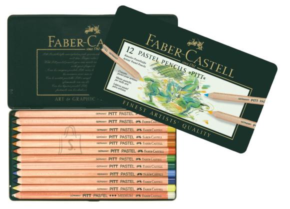 Faber-Castell Pastellpliiatsid Faber-Castell Pitt söe Ø 4,3mm, 12-värvi