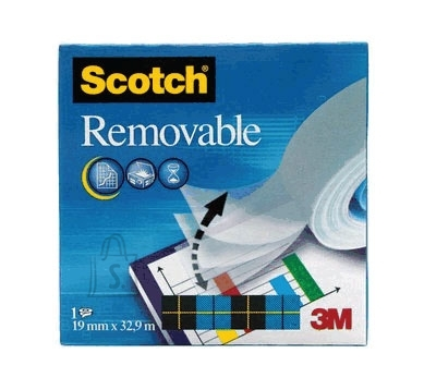 3M Kleeplint 3M Scotch Magic Removable 811 19mmx33m (P)