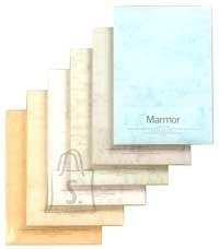 Esinduspaber Marmor A4/90g/100L, valge/roheline