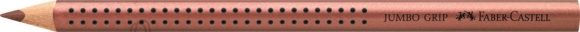 Faber-Castell Värvipliiats Faber-Castell Jumbo Grip metallik vaskne (P)
