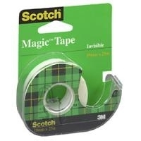 3M Kleeplint 3M Scotch Magic 810 19mmx7,5m alusel