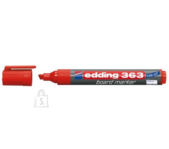 edding Valgetahvlimarker Edding 363 A8 punane, lõigatud ots 1-5mm