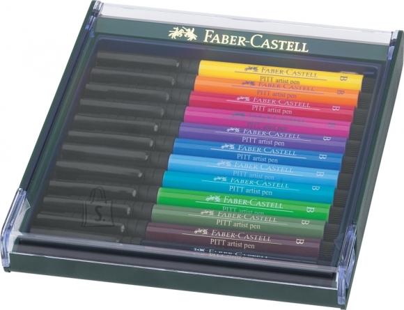 Faber-Castell Pintsel-pliiats Faber-Castell PITT 12tk/pk heledad toonid (P)