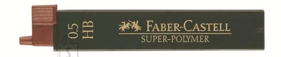 Faber-Castell *Mehaanilise pliiatsi söed Faber-Castell Super-Polymer 0,5mm HB 4tk/blistris