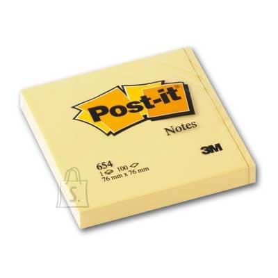 Post-It Märkmepaber 3M Post-it 76x76mm kollane