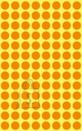 Avery Zweckform Markeerimispunktid Zweckform 3178 Ø8mm 416tk/pk neoonoranz