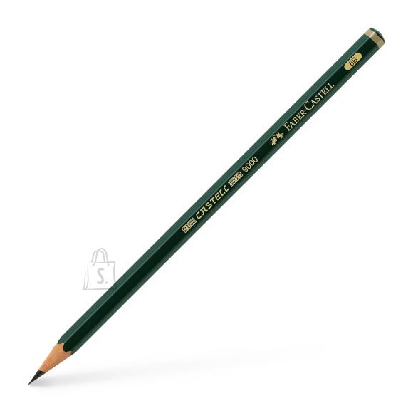 Faber-Castell Harilik pliiats Faber-Castell 9000 6B