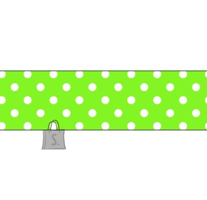 Folia Washi-Tape Folia 26013 15mmx10m heleroheline valgete täppidega