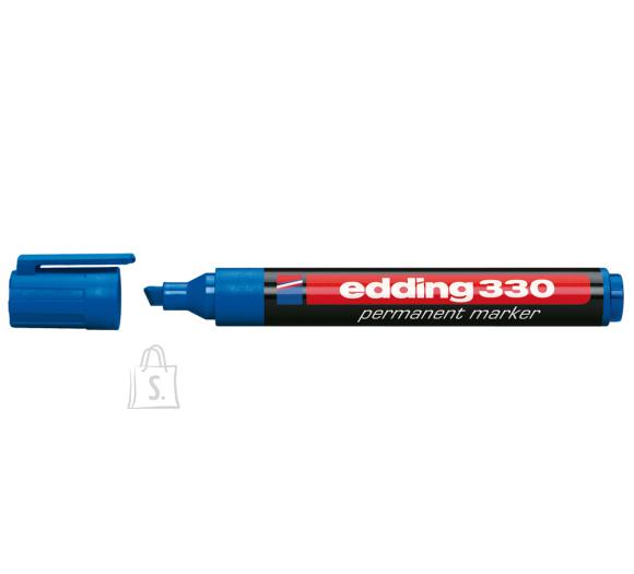 edding Permanentne marker Edding 330 A8, 1-5mm, lõigatud ots sinine