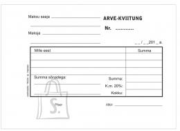 Garisson Blankett Arve-kviitung A6 2x50, isekopeeruv, GR