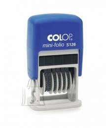 Colop Numeraator Colop Mini-Folio S 126 (6 numbrit) (P)