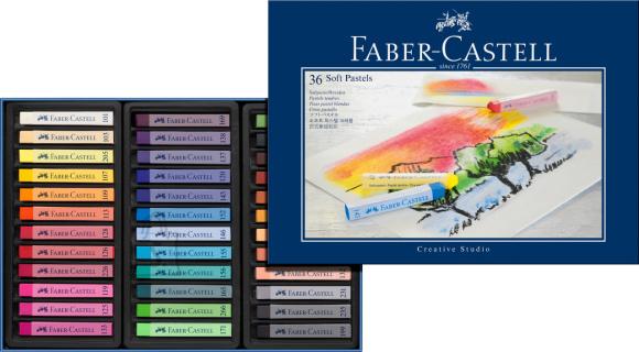 Faber-Castell Pastellkriidid Faber-Castell Gofa 36-värvi
