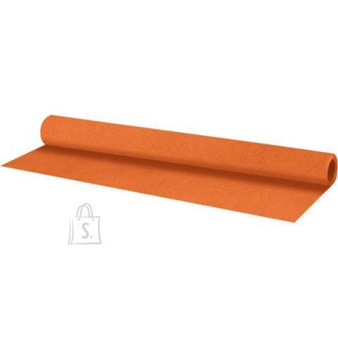 Vilt deVENTE 50x70cm 1mm rullis oranz