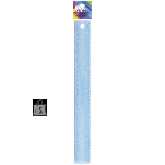 Joonlaud deVENTE Flex 30cm painduv läbipaistev sinine