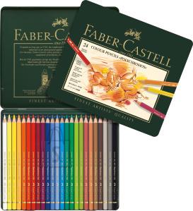 Faber-Castell Kunstniku värvipliiatsid Faber-Castell Polychromos Art&Graphic, 24-värvi