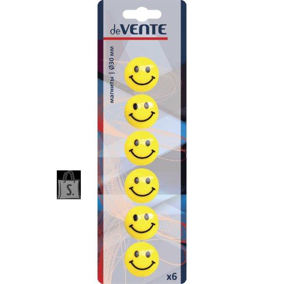 Tahvlimagnet deVENTE Smile 30mm 6tk/pk