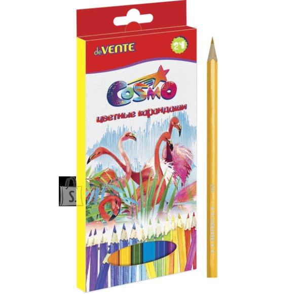 Värvipliiatsid deVENTE Cosmo 24-värvi