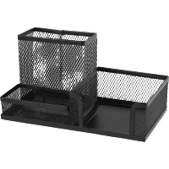 Lauagarnituur deVENTE 3-vahega, metallist, must