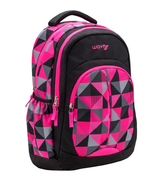 Seljakott Wave 338-64 Pink Cubic