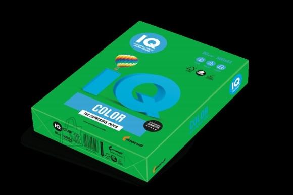 Koopiapaber IQ A4/160g/250L DG47 tumeroheline