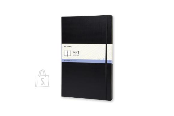 Märkmik Moleskine Sketchbooks A3, valge, kõvad kaaned, must