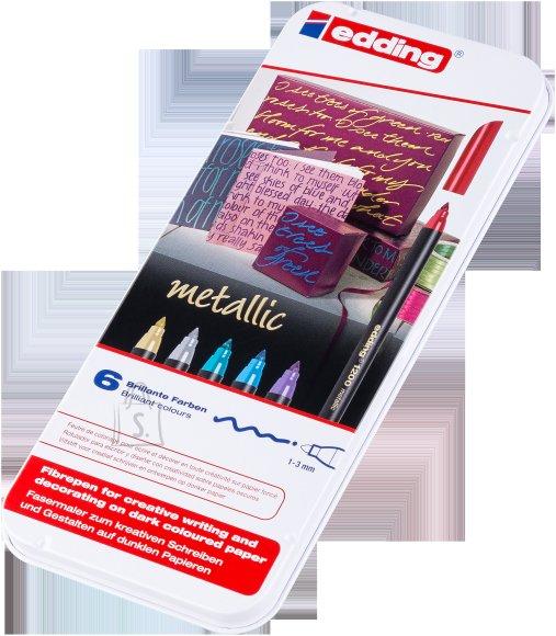 edding Viltpliiatsid Edding 1200 6-värvi 1-3mm