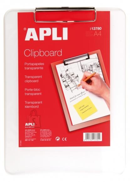 Kirjutusalus Apli A4 läbipaistev