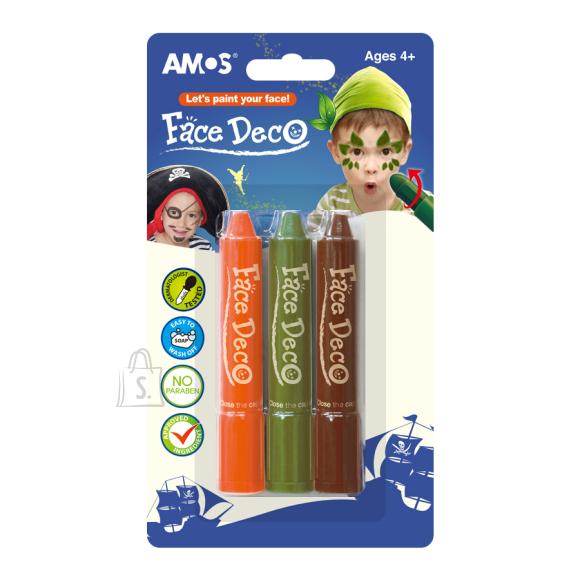 Amos Näovärvid Amos 3-värvi poisid